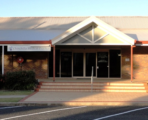 medical centre chinchilla - doctors western downs - gp practice dalby miles tara - front